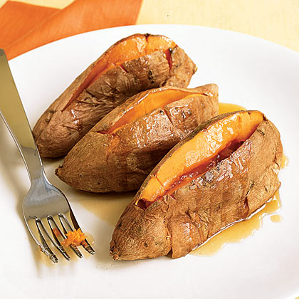 Roasted Sweet Potatoes With Maple Butter Recipe - Health.com