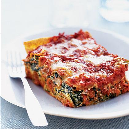 Turkey Italian Sausage And Ricotta Lasagna Recipe — Dishmaps