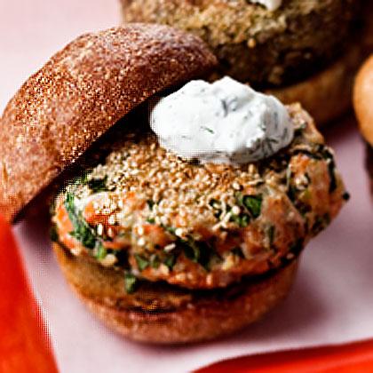 ... sauce and burgers with yogurt dill dill salmon burgers salmon burgers