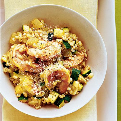 shrimp-zucchini-risotto Recipe
