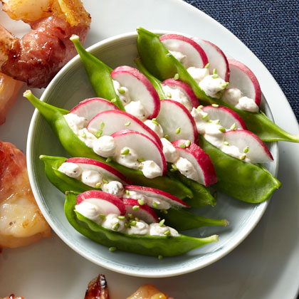 Snow Peas + Wasabi Sesame Seeds Recipe - Health.com