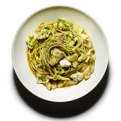 Whole-Wheat Pasta with Kale and Roast Chicken Recipe - Health.com
