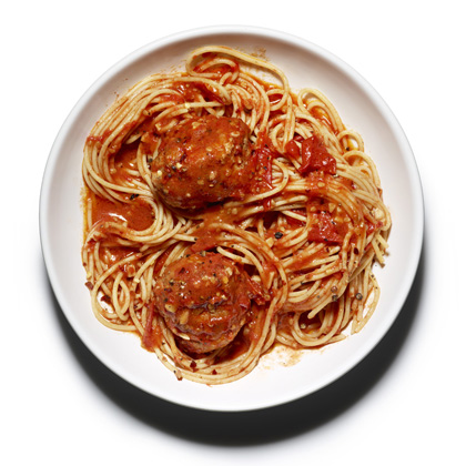 spaghetti-with-meatballs Recipe