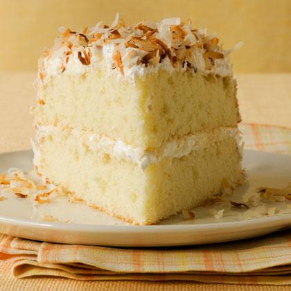 Toasted-Coconut Layer Cake Recipe