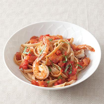 tomato-shrimp-pasta Recipe