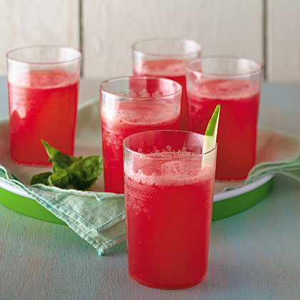 watermelon-basil-drink Recipe