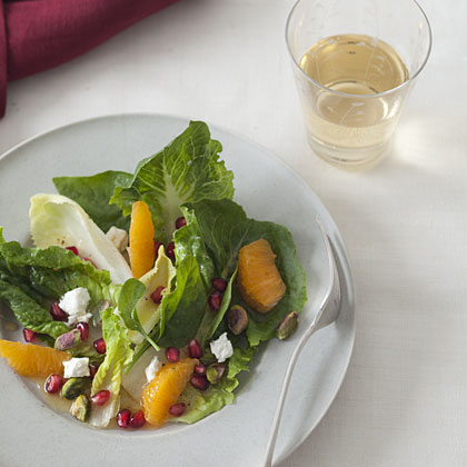 Winter Salad with Pomegranate, Clementine, and Goat Cheese Recipe ...
