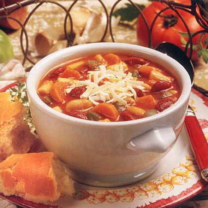 Diabetes meal planner food recipes health italian pasta and bean soup forumfinder Choice Image