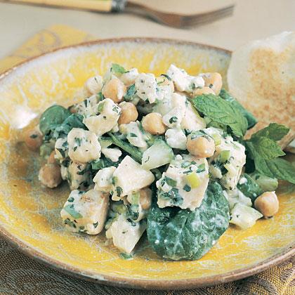Chicken-Garbanzo Salad Recipe