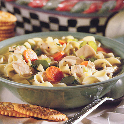 Chunky Chicken Noodle Soup Recipe - Health.com