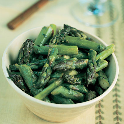 Lemony Asparagus with Parsley Recipe