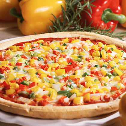 Three-Pepper Pizza Recipe - Health.com