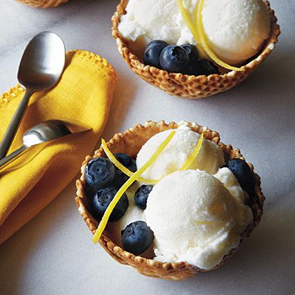 Lemon-Buttermilk Ice Cream Recipe