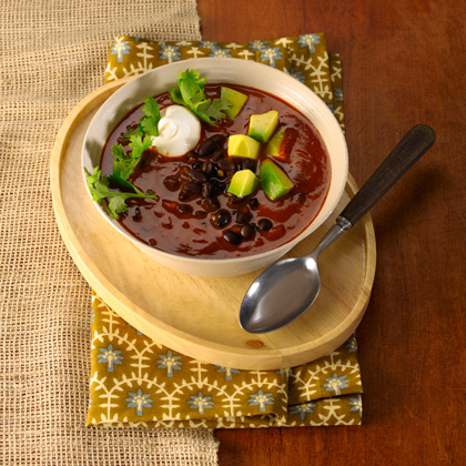 Spicy Southwestern Black Bean Chili Recipe - Health.com