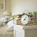 clock-beside-table