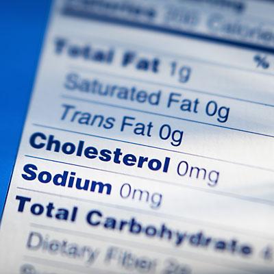 cholesterol-label