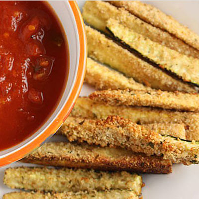 baked zucchini sticks 400x400 Favorite Pins of the Week