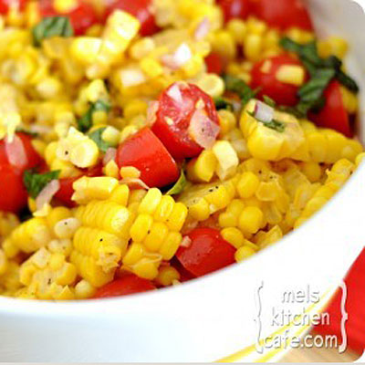 corn tomato salad 400x400 Favorite Pins of the Week