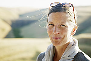 menopause-smile