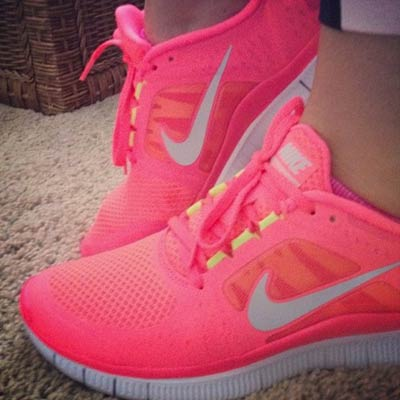 neon pink nike 400x400 Favorite Pins of the Week: Fitness Friday