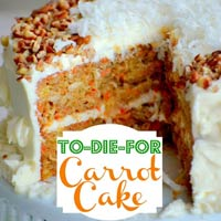 carrot cake pintrest 200x200 Favorite Pins of the Week: Tasty Cake Recipes