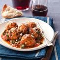 Turkey, Pine Nut, and Currant Meatballs
