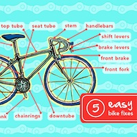 guide to bike repairs 200x200 Beginners Guide to the Most Common Bike Repairs