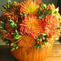 pumpkin wedding flowers 200x200 Its National Pumpkin Day! Our 12 Favorite Pinterest Pins