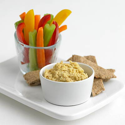 Hummus + red bell pepper - Superfood Combos: 3 New Ways to Boost ...