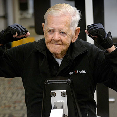 ray clark 400x400 Need Motivation? Check Out This 102 Year Old Gym Goer