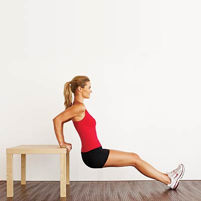 Bench Dips Look 10 Years Thinner With This Workout