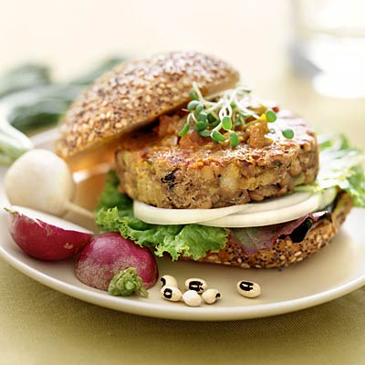 Delicious Homemade Veggie Burgers