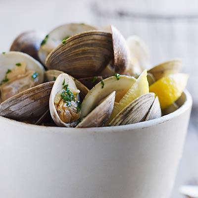 potassium-clams