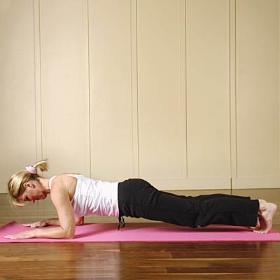 Plank Pose Yoga Poses For Non Flexible People Health Com