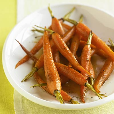 Roasted Baby Carrots with Fresh Thyme