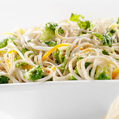 Crispy Broccoli With Rice Noodles - 14 Farmers Market Recipes - Health ...