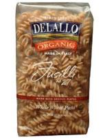 DeLallo organic whole-wheat fusilli