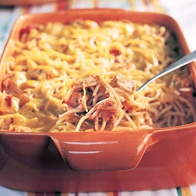 Cheesy Chicken Spaghetti - Diabetes-Friendly Pasta Recipes - Health ...