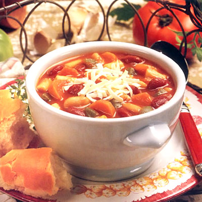 Italian Pasta and Bean Soup - Diabetes-Friendly Pasta Recipes - Health ...