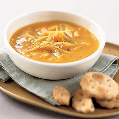 Sweet Potato and Ginger Soup - Vegetarian Soup Recipes - Health.com