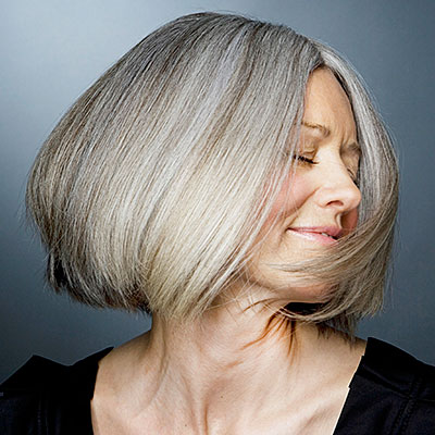 they aren't afraid to embrace their grays  how to age