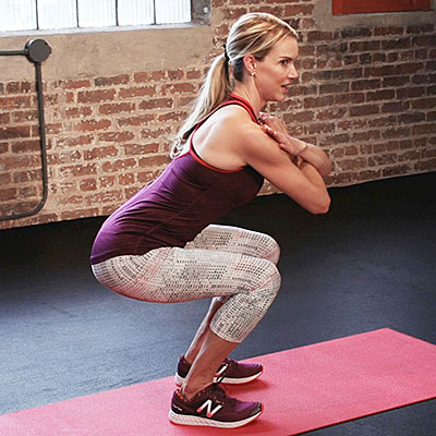 Tone Your Abs and Glutes with Body-Weight Squats - Diet ...