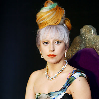 Lady Gaga - Transformation - Hair - Celebrity Before and After