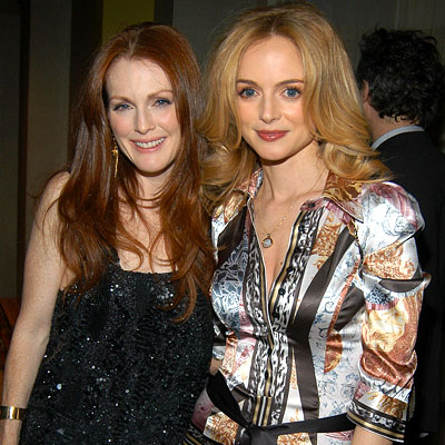 Julianne Moore & Heather Graham