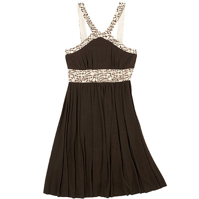 Designer Dress Sale on This Brown One Was Picked By Instyle As One Of The Best Dresses Under