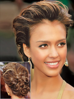 Modern Wedding Hairstyle on French Twist Hairstyles For Women   Wedding Updo   Zimbio