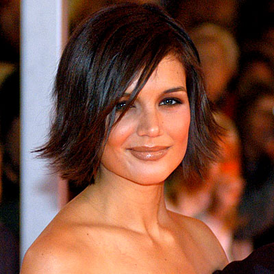 Katie Holmes, tanner, Daily Beauty Flash, makeup, hair, beauty, skin