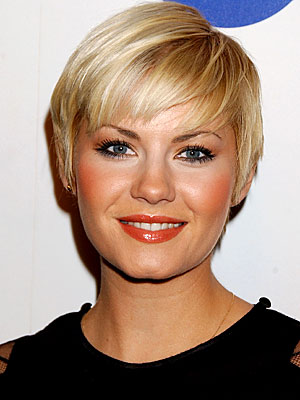 Short Hairstyles For Chubby Faces. with round faces should