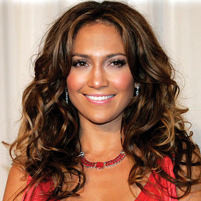 jennifer lopez hair blonde. Jennifer Lopez - Curly Hair