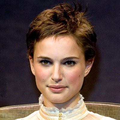Short haircut styles Natalie Portman Short Hairstyle Trends for 2009